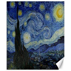 Starry Night Canvas 8  X 10  (unframed) by ArtMuseum