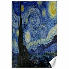 Starry Night Canvas 12  X 18  (unframed) by ArtMuseum