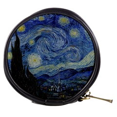 Starry Night Mini Makeup Case by ArtMuseum