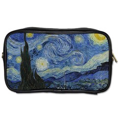 Starry Night Travel Toiletry Bag (two Sides) by ArtMuseum