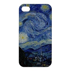 Starry Night Apple Iphone 4/4s Hardshell Case by ArtMuseum