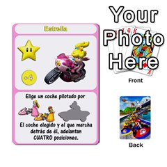 Mario Kart Racing Reedit Huan Solo Y Yun By Roger Orellana   Playing Cards 54 Designs   Qm9tq01aki19   Www Artscow Com Front - Diamond8