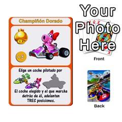 Mario Kart Racing Reedit Huan Solo Y Yun By Roger Orellana   Playing Cards 54 Designs   Qm9tq01aki19   Www Artscow Com Front - Club5