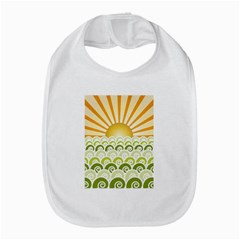 Along The Green Waves Bib by tees2go