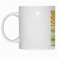 Along The Green Waves White Coffee Mug by tees2go
