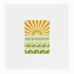 Along The Green Waves Glasses Cloth (medium) by tees2go
