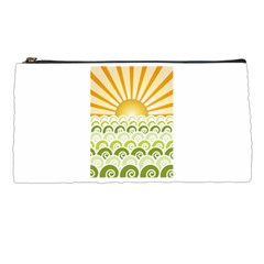 Along The Green Waves Pencil Case by tees2go