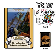 Coup   Dune By Ajax   Playing Cards 54 Designs   I4s3d8l0qpde   Www Artscow Com Front - Spade8