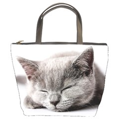 Cat By Divad Brown   Bucket Bag   Zsg4n7wmlldj   Www Artscow Com Front