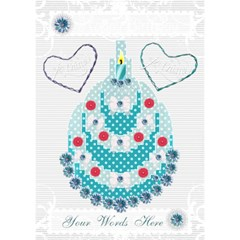 Happy Birthday 3d Card By Claire Mcallen   Birthday Cake 3d Greeting Card (7x5)   M3q1ik61lua6   Www Artscow Com Inside