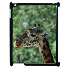 Cute Giraffe Apple Ipad 2 Case (black) by AnimalLover