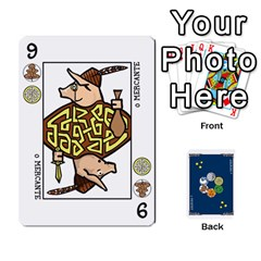 Decktet Ptbr By Alan Romaniuc   Playing Cards 54 Designs   Awv0lq7161t1   Www Artscow Com Front - Heart4