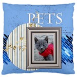 pet - Large Cushion Case (Two Sides)