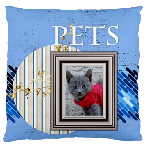 Pet By Joely   Large Cushion Case (one Side)   M2rgozrq12v7   Www Artscow Com Front