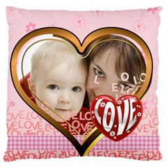 Love By Joely   Large Cushion Case (two Sides)   Bhiexuzwpp9b   Www Artscow Com Back