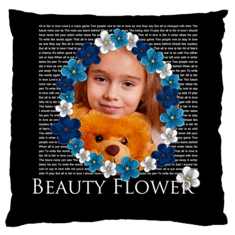 Kids By Joely   Large Cushion Case (one Side)   4aw3g2ik94or   Www Artscow Com Front