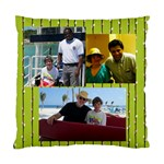 men on cruise - Standard Cushion Case (One Side)