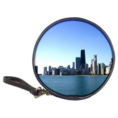 Chicago Skyline Cd Wallet by canvasngiftshop