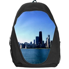 Chicago Skyline Backpack Bag by canvasngiftshop