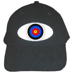 Target Black Baseball Cap by hlehnerer