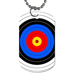 Target Dog Tag (two Sided)