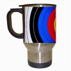 Target Travel Mug (white) by hlehnerer