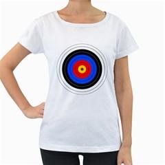 Target Womens' Maternity T Shirt (white) by hlehnerer