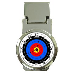 Target Money Clip With Watch by hlehnerer
