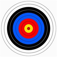 Target Canvas 20  X 20  (unframed) by hlehnerer