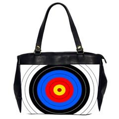 Target Oversize Office Handbag (two Sides) by hlehnerer