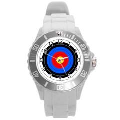 Target Plastic Sport Watch (large) by hlehnerer