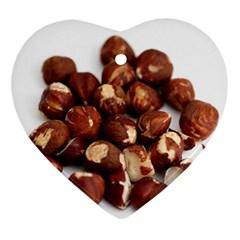 Hazelnuts Heart Ornament by hlehnerer