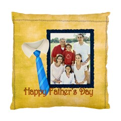 Fathers Day By Dad   Standard Cushion Case (two Sides)   08qwlrvg5exe   Www Artscow Com Front