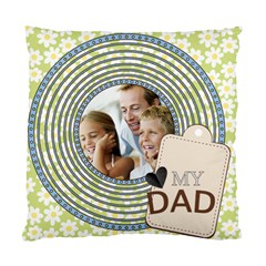 Father By Dad   Standard Cushion Case (two Sides)   C3q402fb9hqc   Www Artscow Com Back