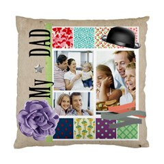Father By Dad   Standard Cushion Case (two Sides)   U8ljumoxt19t   Www Artscow Com Front