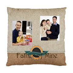 Father By Dad   Standard Cushion Case (two Sides)   Hbd0w1ltir1c   Www Artscow Com Back