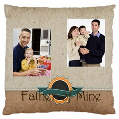 Father By Dad   Large Cushion Case (two Sides)   B4zfivwzhg02   Www Artscow Com Front