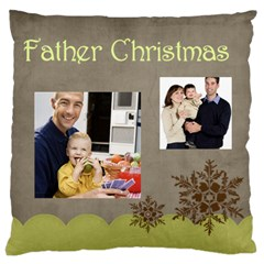 Father By Dad   Large Cushion Case (two Sides)   My2ulty9is01   Www Artscow Com Back