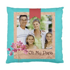 Father By Dad   Standard Cushion Case (two Sides)   52auoamcctqa   Www Artscow Com Front