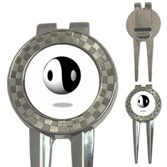 Yin Yang Golf Pitchfork & Ball Marker by hlehnerer
