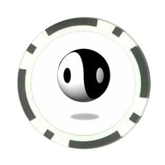 Yin Yang Poker Chip by hlehnerer