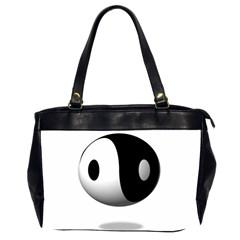 Yin Yang Oversize Office Handbag (two Sides) by hlehnerer