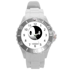 Yin Yang Plastic Sport Watch (large) by hlehnerer