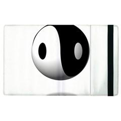 Yin Yang Apple Ipad 2 Flip Case by hlehnerer