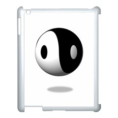 Yin Yang Apple Ipad 3/4 Case (white) by hlehnerer