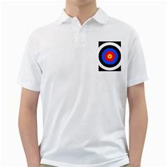 Target Mens  Polo Shirt (white) by hlehnerer