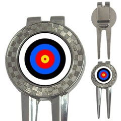 Target Golf Pitchfork & Ball Marker by hlehnerer