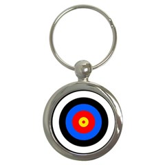 Target Key Chain (round) by hlehnerer