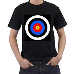 Target Mens' Two Sided T-shirt (Black) by hlehnerer