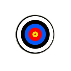 Target Golf Ball Marker (for Hat Clip) by hlehnerer
